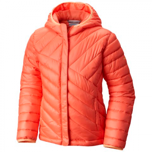 Columbia Girl ' S Youth Powder Lite Puffer Jacket - Hot Coral