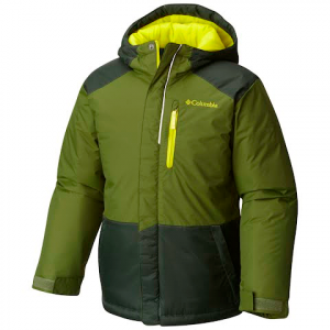 Columbia Youth Boy ' S Lightning Lift Jacket - Pesto / Deep Woods