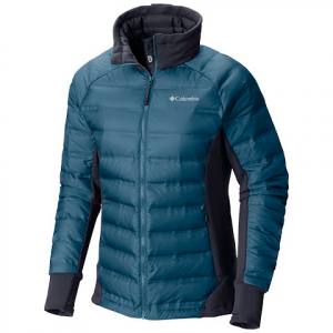 Columbia Women ' S Lake 22 Hybrid Jacket - Blue Heron