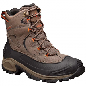 Columbia Men ' S Bugaboot Ii Winter Boots - Mud / Desert Sun