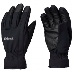 Columbia Men ' S Northport Insulated Softshell Gloves - Black