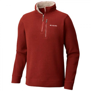 Columbia Men ' S Terpin Point Ii 1 / 2 Zip - Deep Rust