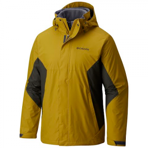 Columbia Men ' S Eager Air Interchange 3 - In - 1 Jacket - Peppercorn / Gravel