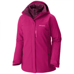 Columbia Women ' S Herz Mountain Interchange Jacket - Deep Blush