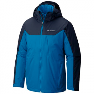 Columbia Men ' S Whirlibird Interchange 3 - In - 1 Jacket - Dark Compass / Collegiate Navy