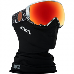 Anon Women ' S Wm1 Mfi Goggle - Apres / Hc Red By Zeiss