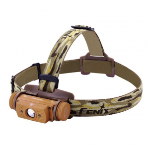 Fenix Hl60r Rechargeable Headlamp - Desert