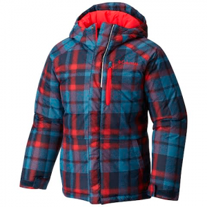 Columbia Boy ' S Toddler Lightning Lift Jacket - Collegiate Navy / Plaid Print