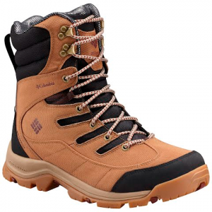 Columbia Men ' S Gunnison Plus Xt Omni - Heat Boots - Black / Deep Rust
