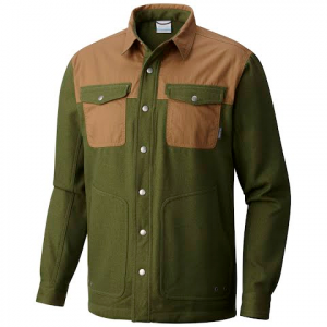Columbia Men ' S Deschutes River Jacket - Surplus Green / Trail