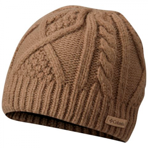 Columbia Women ' S Cabled Cutie Beanie - Truffle