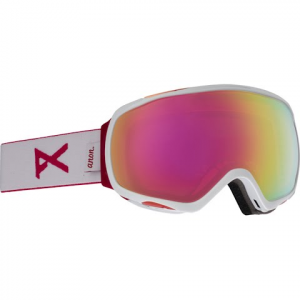 Anon Women ' S Tempest Goggle - White / Pink Sq