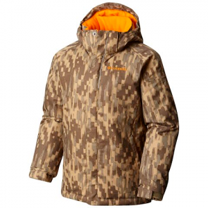 Columbia Boy ' S Youth Twist Tip Jacket - Sage Brushed Strokes