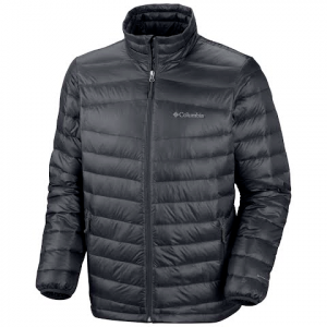 Columbia Men ' S Platinum 860 Turbo Down Jacket - Graphite