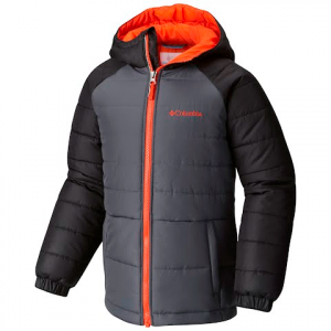 Columbia Youth Boy ' S Tree Time Puffer Jacket - Graphite / Black