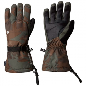 Columbia Men ' S Whirlibird Glove - Gravel Camo