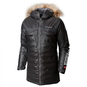 Columbia Men ' S Outdry Ex Diamond Heatzone Long Parka - Black