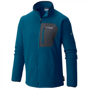 Columbia Men ' S Titan Pass 2 . 0 Fleece Jacket - 489phoenixblue