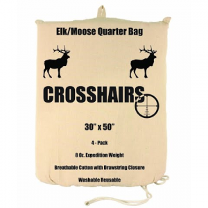Crosshairs Elk / Moose 30x50 '' Quarter 8oz Bag ( 4 - Pack )