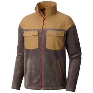 Columbia Men ' S Steens Mountain Novelty Fleece - Buffalo / Trail