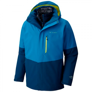 Columbia Men ' S Wild Card Interchange Jacket - Dark Compass / Phoenix Blue