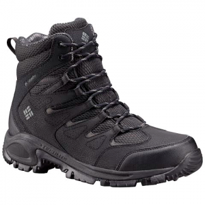 Columbia Men ' S Gunnison Omni - Heat Winter Boots - Shark / Charcoal