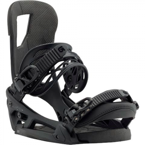 Burton Men ' S Cartel Est Snowboard Bindings - Black Matte