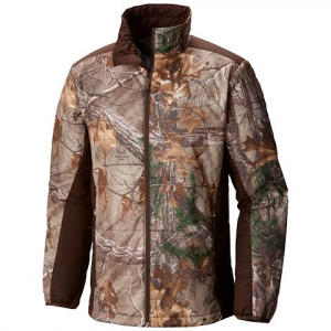 Columbia Men ' S Phg Stealth Shot Iii Insulated Jacket - Realtree Xtra / Cordovan