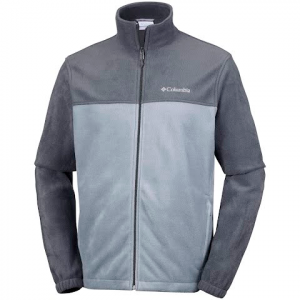 Columbia Men ' S Steens Mountain 2 . 0 Full Zip ( Extended Sizes ) - Black