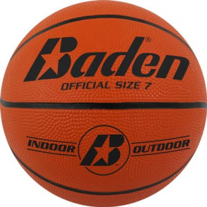 Baden Sports Official Size 7 Rubber Basketball
