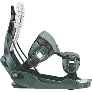 Flow Women ' S Minx Snowboard Bindings - Slate / Ruby