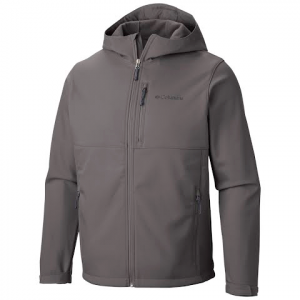 Columbia Men ' S Ascender Hooded Softshell Jacket ( Extended Size ) - Boulder