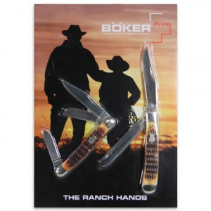 Boker The Ranch Hands Pocket Knife Set