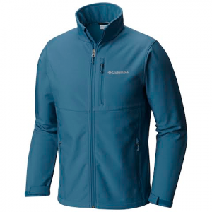 Columbia Mens Ascender Softshell Jacket ( Extended Size ) - Blue Heron