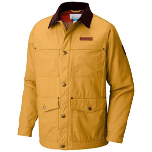 Columbia Men ' S Loma Vista Flannel Jacket ( Extended Sizes ) - Pilsner
