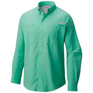 Columbia Men ' S Tamiami Ii Longsleeve Shirt ( Extended Sizes ) - Zing