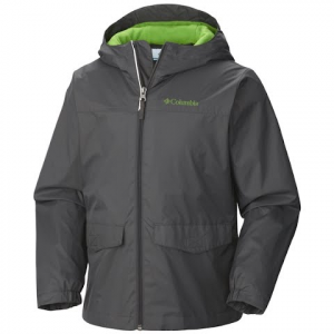 Columbia Boys Youth Rain Zilla Jacket - 691brtred