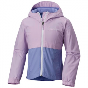 Columbia Girls Youth Rainzilla Jacket - Phantom Purple / Fairytale
