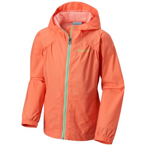 Columbia Girl ' S Toddler Switchback Rain Jacket - Bright Peach