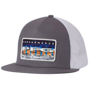 Columbia Pfg Offshore Snap Back Hat - Titanium Marlin Fade