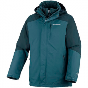 Columbia Mens Element Blocker Interchange Jacket - Everblue