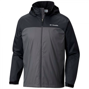 Columbia Columbia Men ' S Glennaker Lake Lined Rain Jacket ( Extended Sizes ) - Grill / Black
