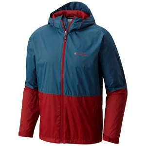 Columbia Mens Roan Mountain Jacket - Whale / Red Element