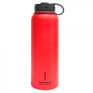 Fifty / Fifty 40 Oz Double - Wall Vacuum - Insulated Water Bottle - Apple Red