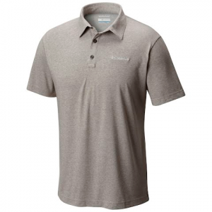 Columbia Men ' S Thistletown Park Polo Ii - Boulder Heather