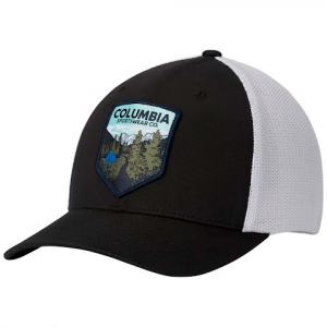 Columbia Mesh Ballcap - Black Trail Patch