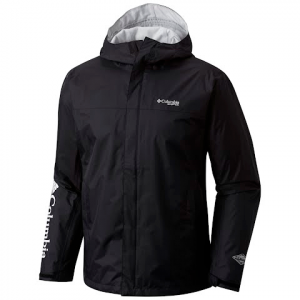 Columbia Men ' S Pfg Storm Jacket - Black / Cool Grey