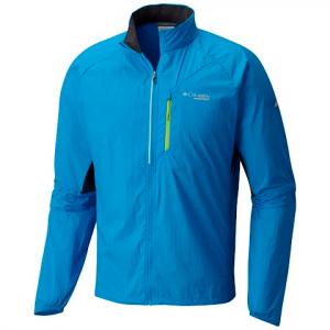Columbia Men ' S Titan Lite Ii Windbreaker - Compass Blue
