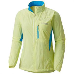 Columbia Women ' S Titan Lite Windbreaker Ii - Neon Light
