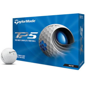 Taylor Made Tp5 Golf Balls 12 Pack - White